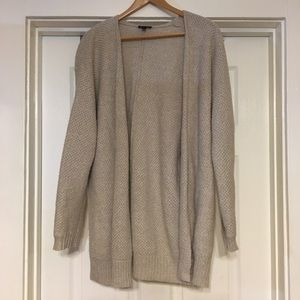 Express Open Front Sweater Cardigan